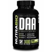 NutraBio D-Aspartic Acid (600mg) 冬氨酸 (600毫克) - 150粒蔬菜膠囊