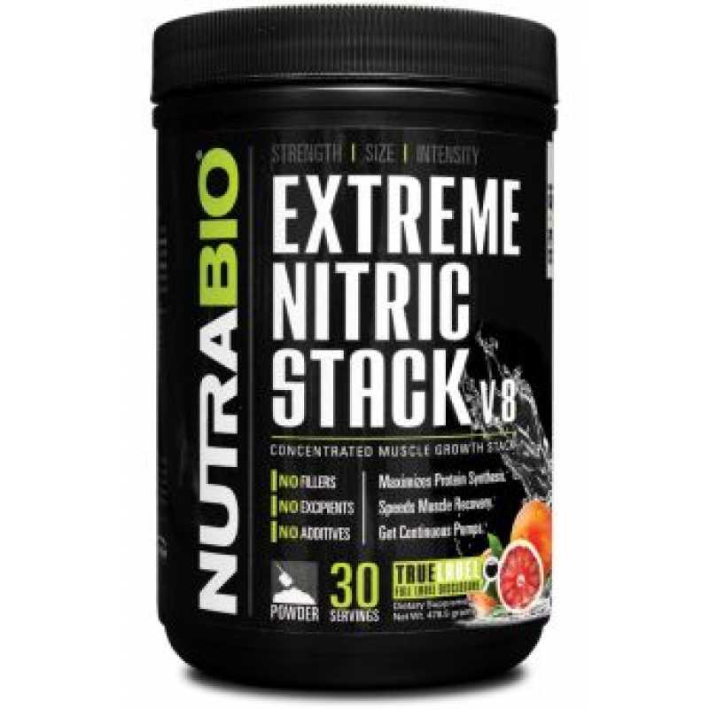 NutraBio Extreme Nitric Stack - 30 Servings