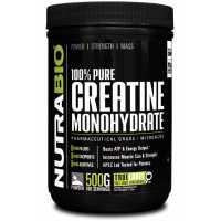 NutraBio Creatine Monohydrate 一水肌酸 - 500克