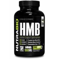 NutraBio HMB (1000mg) - 180 Vegetable Capsules