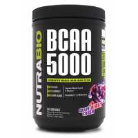 NutraBio BCAA 5000 Powder - 60 Servings