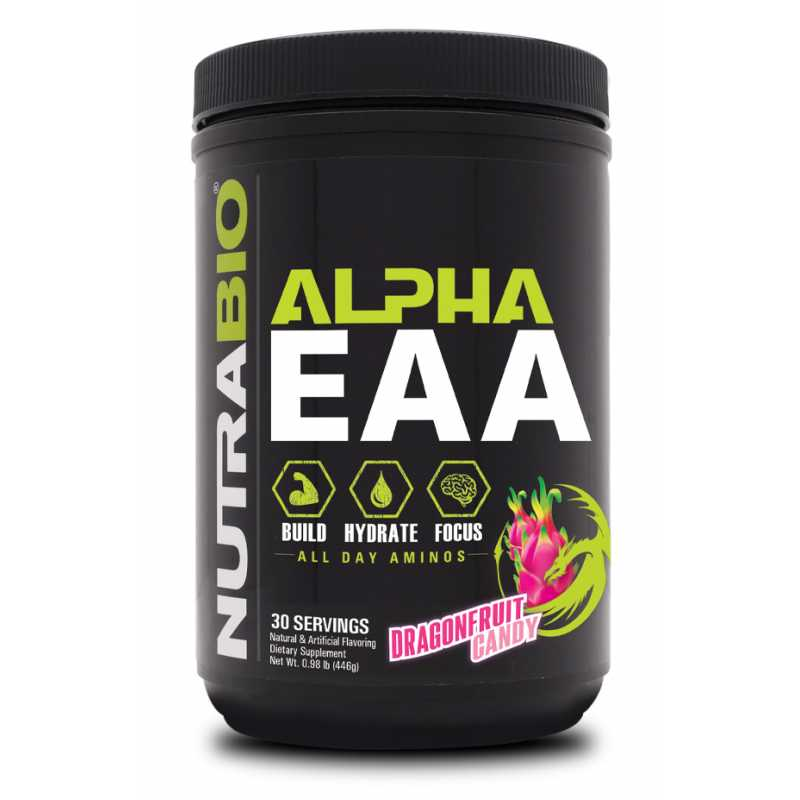 NutraBio Alpha EAA 必需氨基酸 - 30份