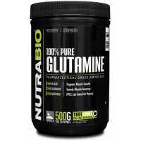NutraBio Glutamin Powder 谷氨酰胺 - 500克