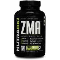 NutraBio ZMA - 180 Vegetable Capsules