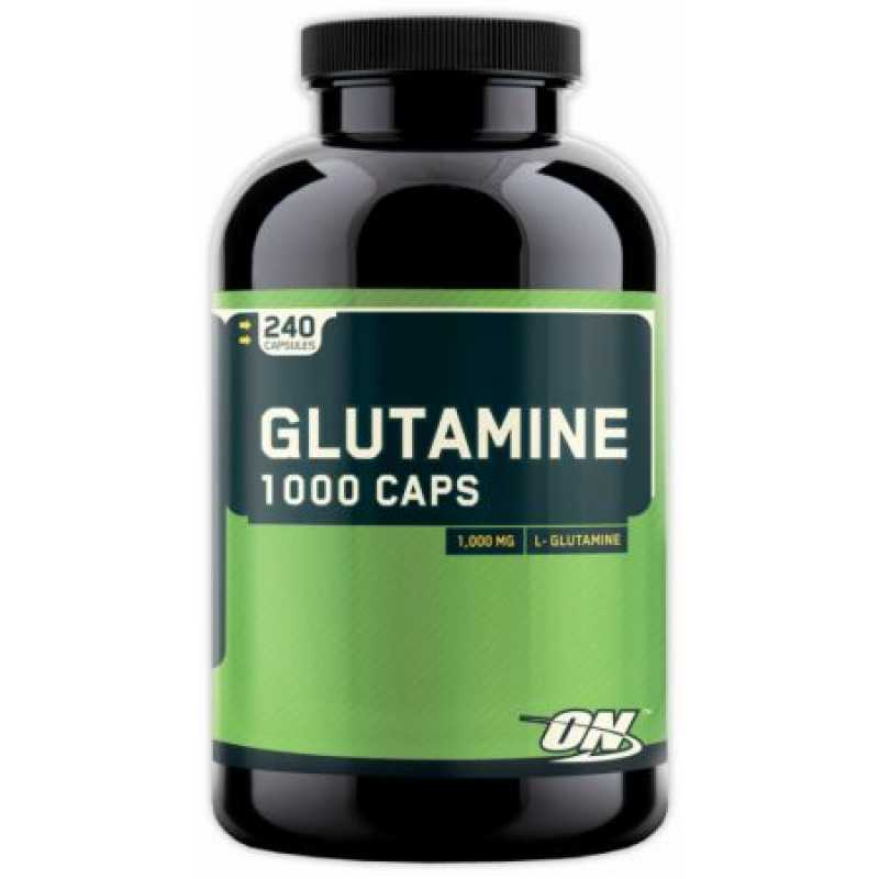 Optimum Nutrition Glutamine - 240 Capsules