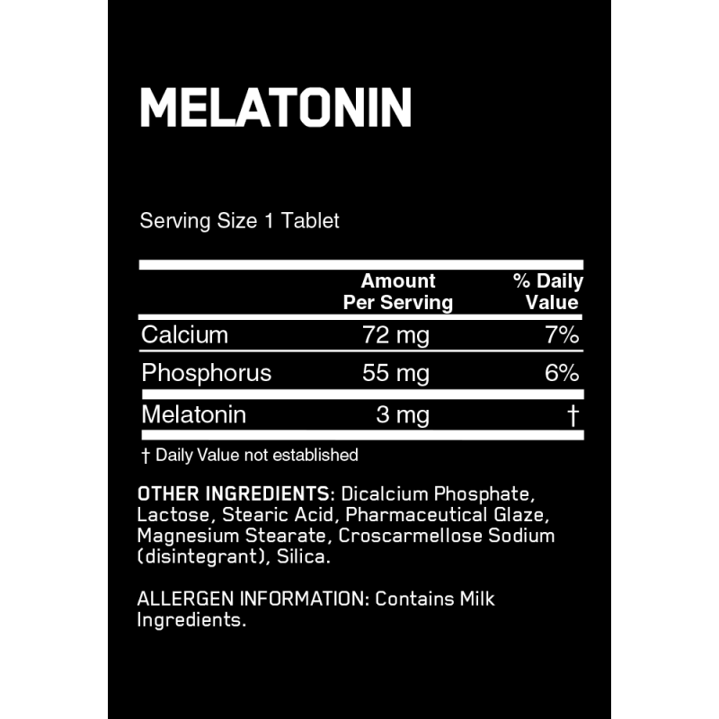 Optimum Nutrition Melatonin 褪黑激素 - 100片