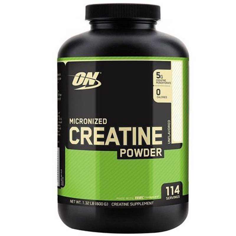 Optimum Nutrition Micronized Creatine Powder 一水肌酸粉 - 600克