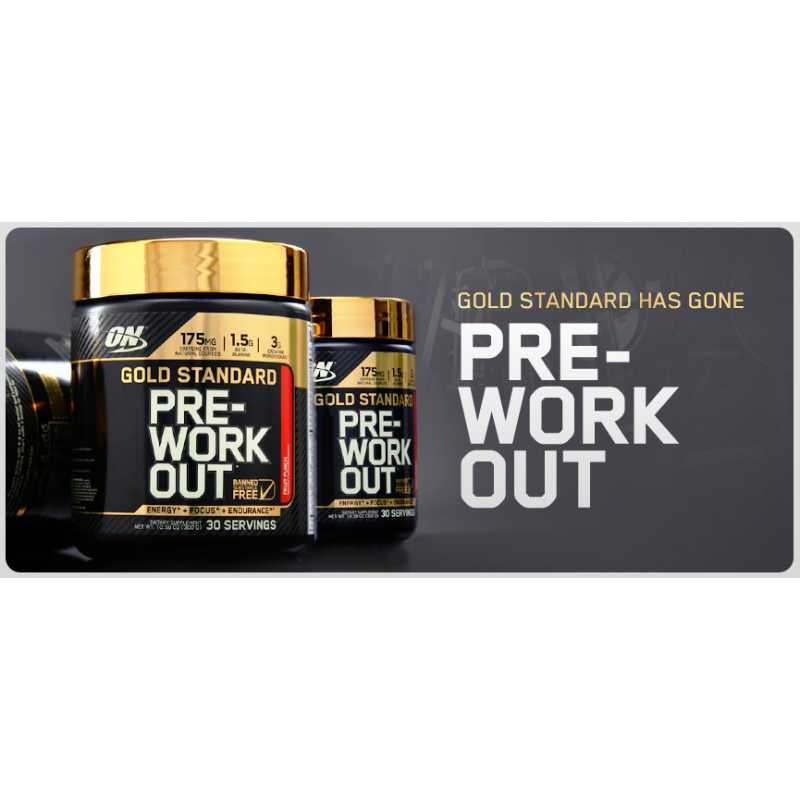 Optimum Nutrition Gold Standard Pre-Workout 金牌氮泵 - 30份