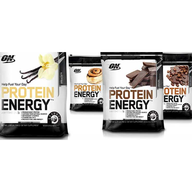 Optimum Nutrition Protein Energy - 1.72lbs