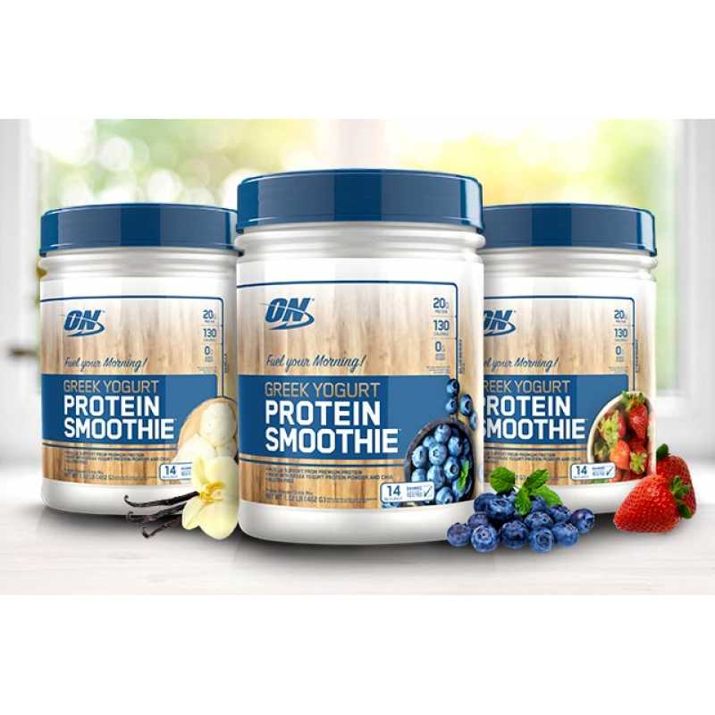 Optimum Nutrition Greek Yogurt Protein Smoothie - 1.02lbs