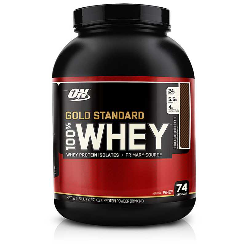 Optimum Nutrition Gold Standard 100% Whey Protein 金牌乳清蛋白粉 - 5磅