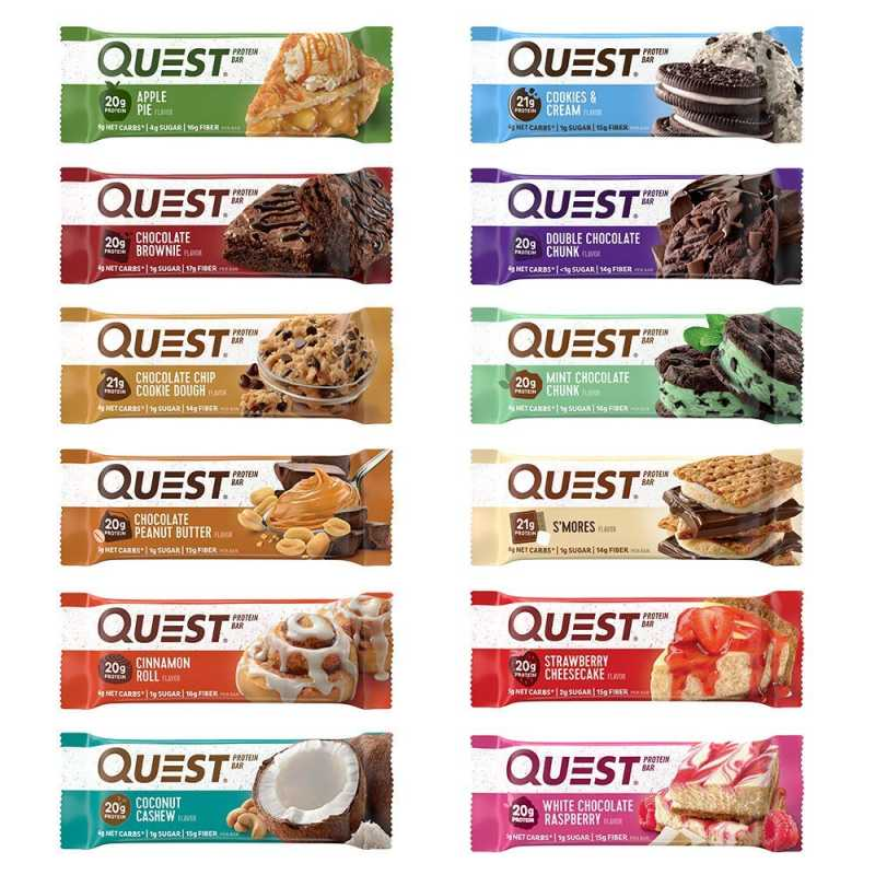 Quest Nutrition Quest Protein Bars 蛋白棒 - 12條
