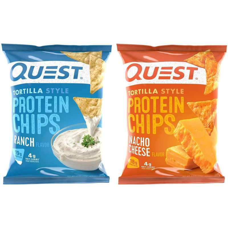 Quest Nutrition Tortilla Style Protein Chips 蛋白玉米薯片 - 1包
