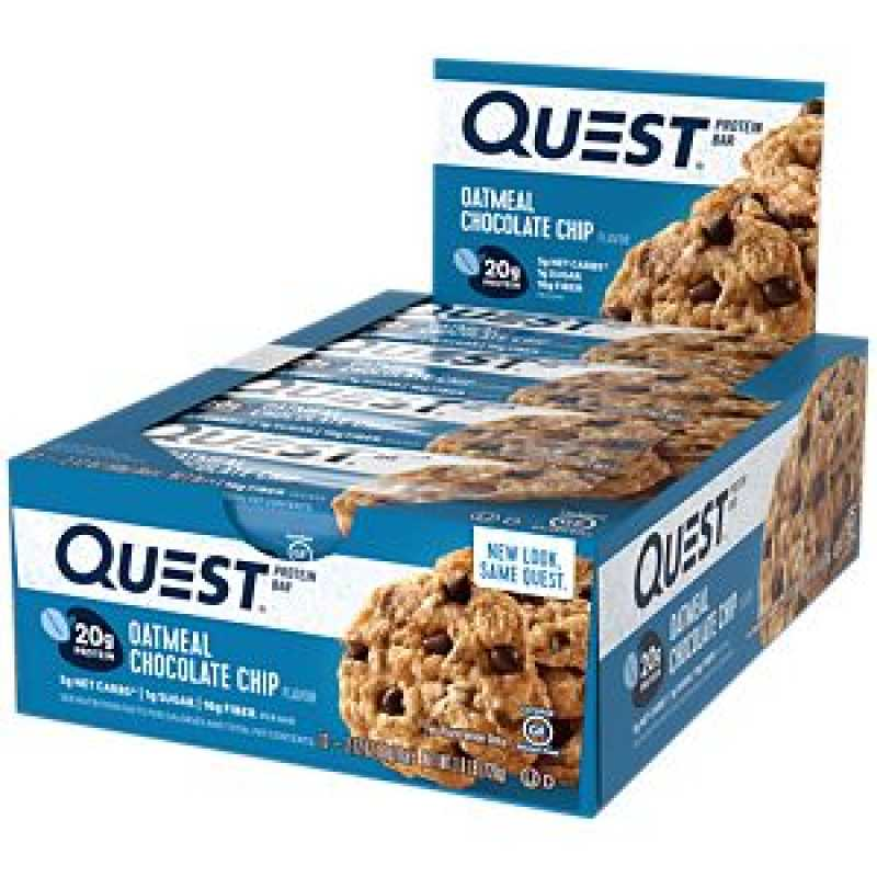 Quest Nutrition Quest Protein Bars 蛋白棒 - 12条