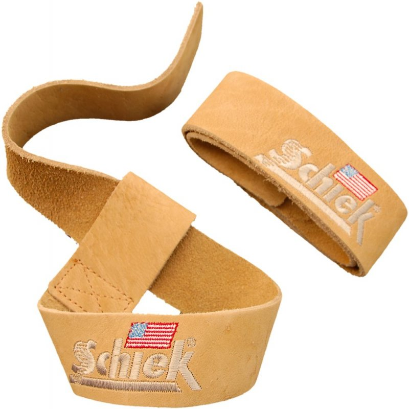 Schiek Leather Lifting Straps 皮革助力带