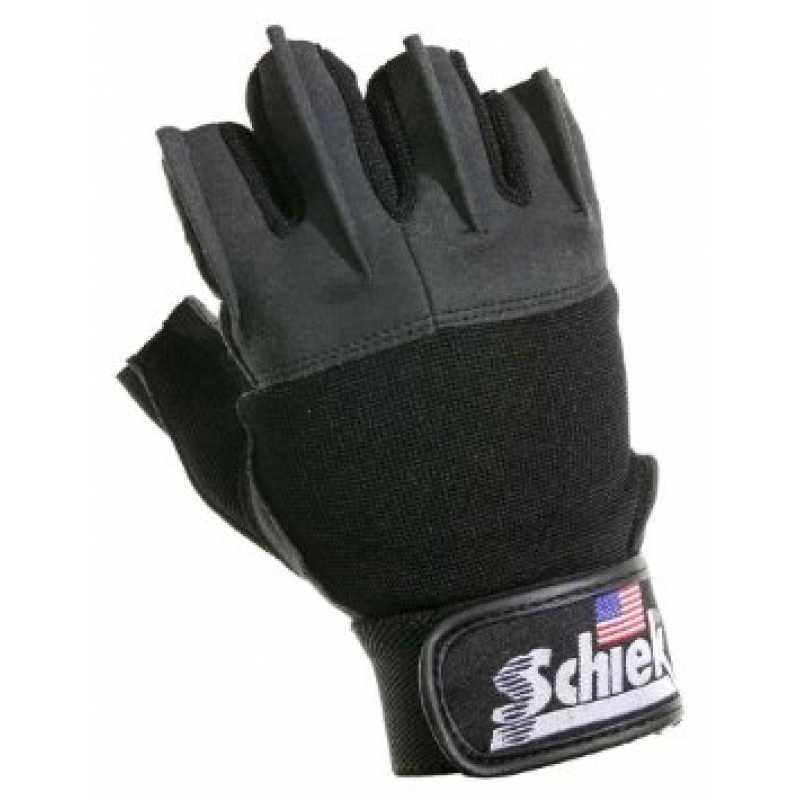 Schiek Women's Lifting Gloves 女仕健身半指手套 - Black 黑色