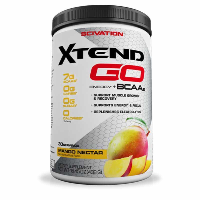 Scivation Xtend GO Energy+BCAAs 複合支鏈氨基酸 + 咖啡因 - 30份