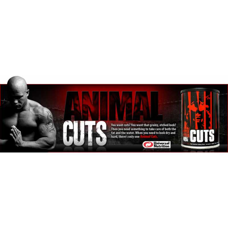Universal Nutrition Animal Cuts 环球野兽烧脂丸 - 42包