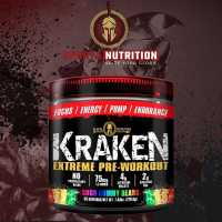 Sparta Nutrition Kraken Extreme Pre-Workout - 40 Servings